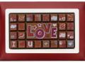 Czekoladowa karta Love 70g.