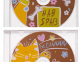 Czekoladowe Płyty CD koty i psy 40g.