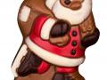 Mikołaj na łyżwach
