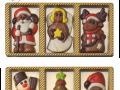 Zestawy świątecznych czekoladek 5 g.