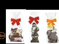 pakowanie czekoladowych figurek