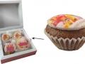 mini muffinki w opakowaniu