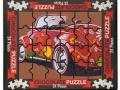 Puzzle Auto 175g. czekolada