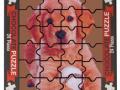 Puzzle piesek 175g czekolada