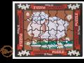 Puzzle wielkanocne Baranek 175g.