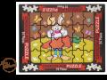 Puzzle wielkanocne zajączek 175g.