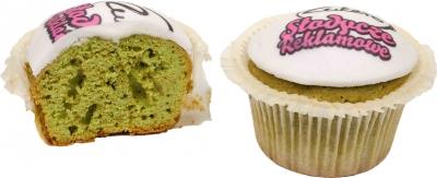 muffinki z zielonej herbaty 2