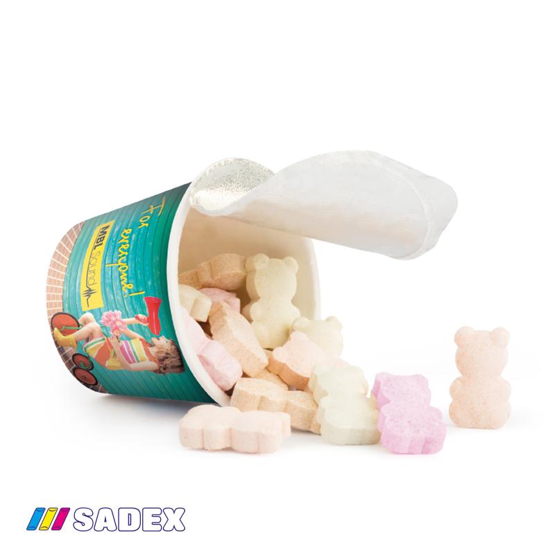 cukierki w indywidualnym opakowaniu
