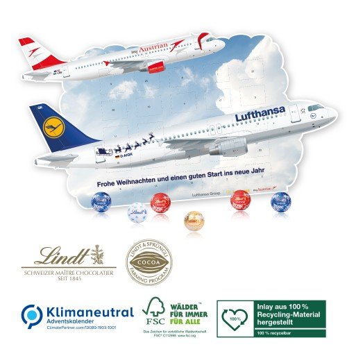 kalendarz adwentowy samolot