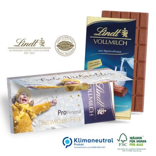 czekolada lindt własny projekt